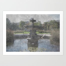 Vienesse Fountain Art Print