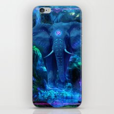 Blue Elephant iPhone & iPod Skin