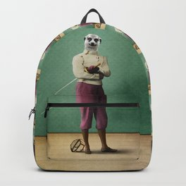 Milton Meerkat: Fencing Master Backpack