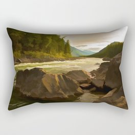 Downriver Rectangular Pillow
