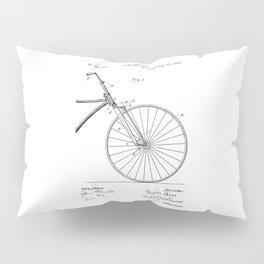patent art Bell Velocipede fork 1890 Pillow Sham