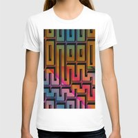 labyrinth T-shirts featuring Labyrinth by Fine2art
