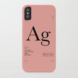 Baskerville iPhone Case