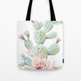 Cactus 3 White #society6 #buyart Tote Bag