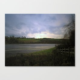 Lindley Overflow Canvas Print