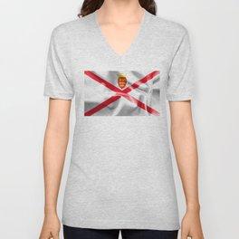 Jersey Flag Unisex V-Neck