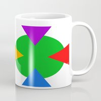 ninja turtle Mugs featuring Teenage Mutant Ninja Turtle Minimalist by The Fenix