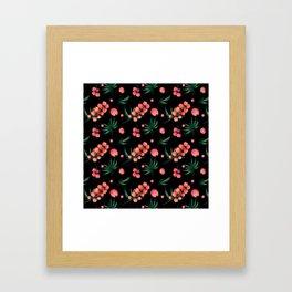 tropical botanical Framed Art Print