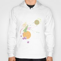 kandinsky Hoodies featuring Abstract Fruits by Mabel S
