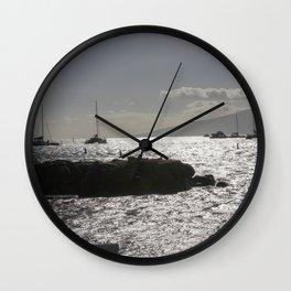 Let's set sail Wall Clock