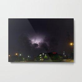 Heavenly Storm Metal Print