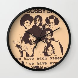 The Cosby Have No Pride Wall Clock