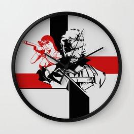 114 Snake & Quiet Wall Clock