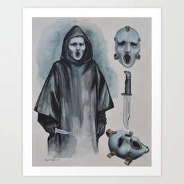 """Scream The Tv Series - """"Brandon James Mask"""" Ghost Face 