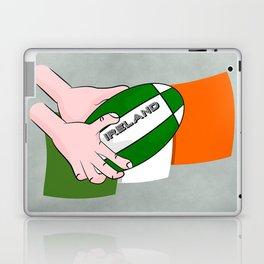 Rugby Ireland Flag Laptop & iPad Skin