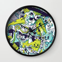 Voodoo Wall Clock