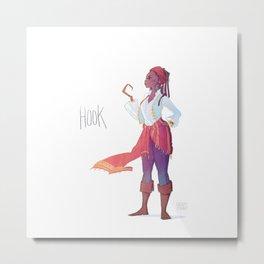 Captain Hook Metal Print