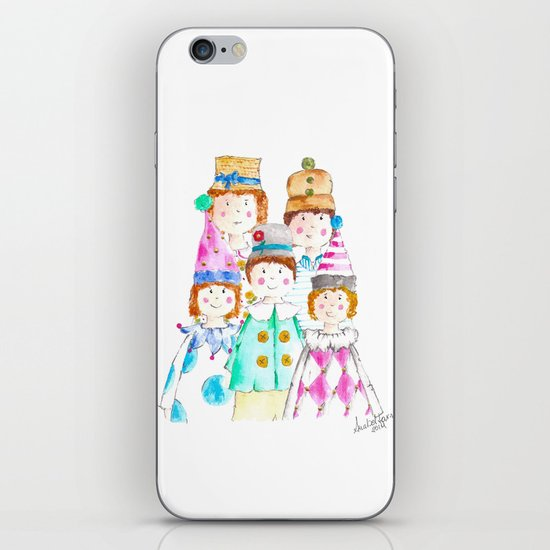 Circus Friends iPhone & iPod Skin