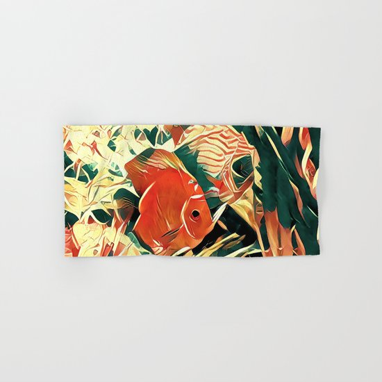 Small Fish Hand & Bath Towel
