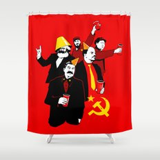 The Communist Party (variant) Shower Curtain