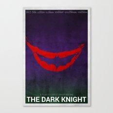 The Dark Knight (Alternative Poster) Canvas Print