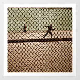 Hand Ball NYC Art Print