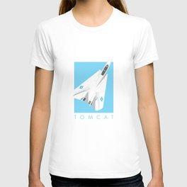 F-14 Tomcat Jet Aircraft - Sky T-shirt