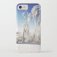 ski iPhone & iPod Cases featuring Ski  by David Nadeau