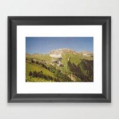 Moutain Framed Art Print