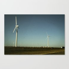 Amarillo Turbine Canvas Print