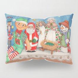 Christmas Dolls Pillow Sham