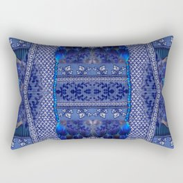 Indigo Fetish Rectangular Pillow