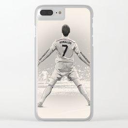 Cristiano Ronaldo - Real Madrid RMFC Clear iPhone Case