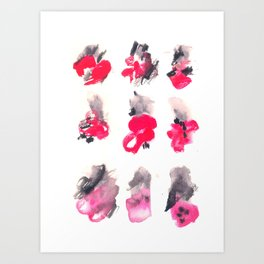 160122 Summer Sydney 2015-16 Watercolor #91 Art Print