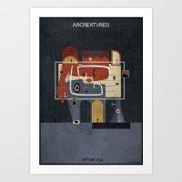 016_ARCREATURES-01 Art Print