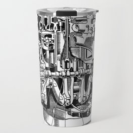 Internal Combustion Engine Travel Mug