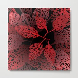 fire autumn Metal Print