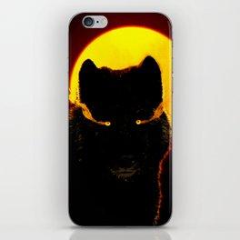Malevolent Wolf iPhone Skin
