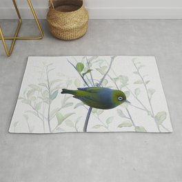 Little Silvereye Rug