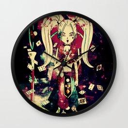 fairies and destructive gods Wall Clock