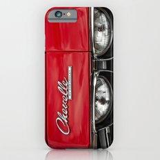 1969 Red Chevrolet Chevelle Car iPhone 6 Slim Case
