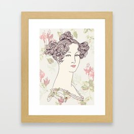 Lady I Framed Art Print