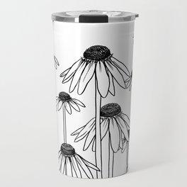 Daisy Doodle Travel Mug