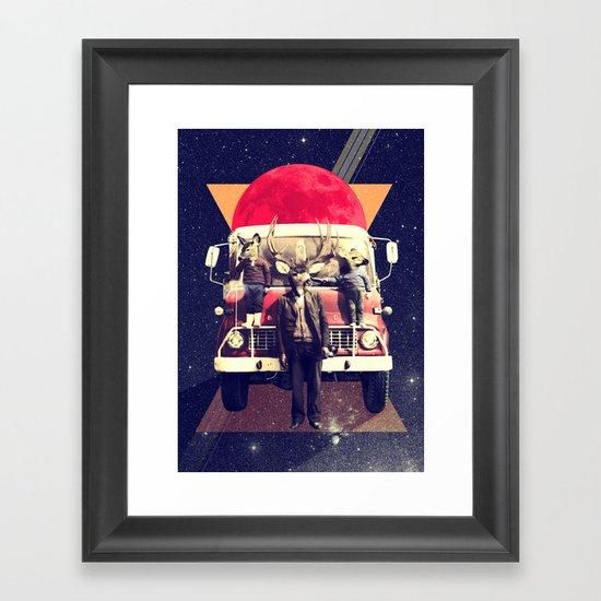 El Camion Framed Art Print