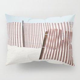 Beach Fence Pillow Sham