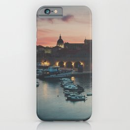 red sky at night ... iPhone Case