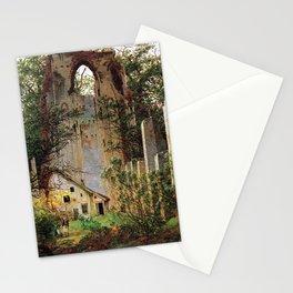 Caspar David Friedrich Monastery Ruins Eldena Stationery Cards