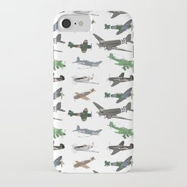 Multiple WW2 Airplanes iPhone Case