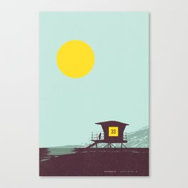 Locals Only - San Diego Canvas Print