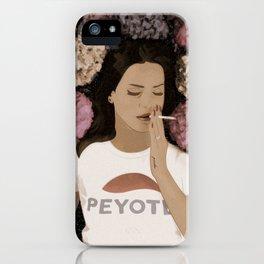 Peyote Field Landscape iPhone Case